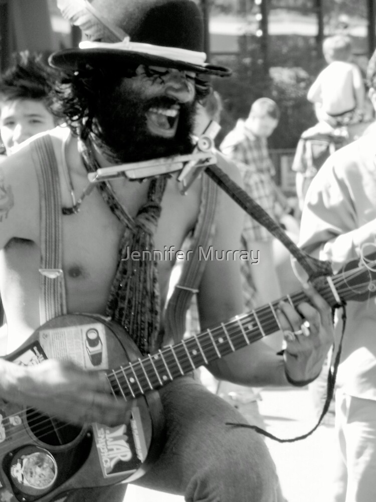 Guitar Man by Jennifer Murray