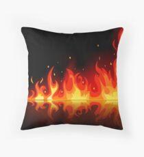 Feuer Throw Pillow
