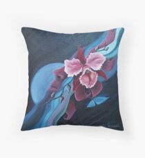 blossoming mind Throw Pillow