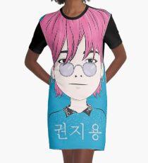 G-Dragon | GD Cartoon Art Graphic T-Shirt Dress