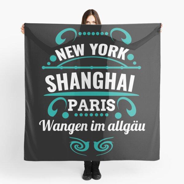 Wangen dans l'allgäu - Notre ville n'est pas un Weltmertopole mais vous devriez. Foulard