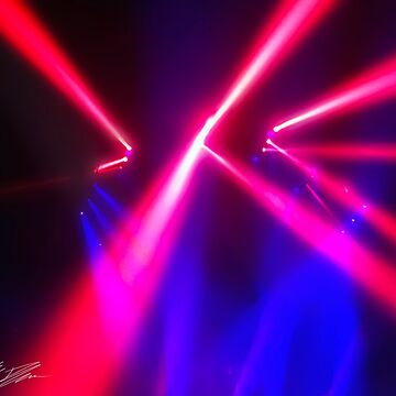 Red Laser Lights by TheTimekeeper