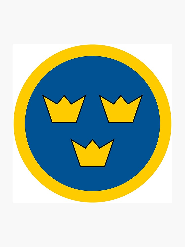 Three Crowns Tre Kronor Photographic Print