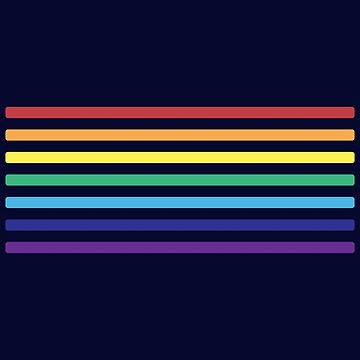Rainbow Lines by joshdbb