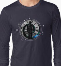 Christopher Eccleston - the Ninth Doctor - full circle Long Sleeve T-Shirt