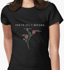 Perfectly Wrong by Shawn Mendes Women's Fitted T-Shirt