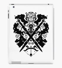 Roleplaying Rorschach iPad Case/Skin