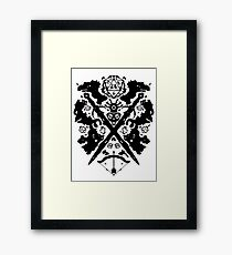 Roleplaying Rorschach Framed Print