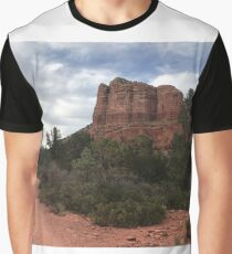 Cliff face outside Sedona Graphic T-Shirt