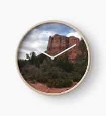 Cliff face outside Sedona Clock