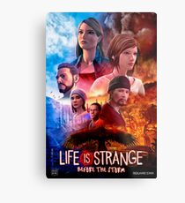 Life is Strange - Before the Storm Cinematic Movie Poster Metal Print