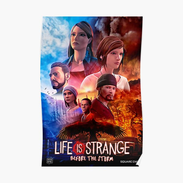Life is Strange - Before the Storm Cinematic Movie Poster Poster