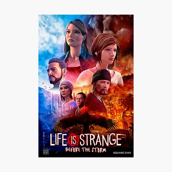 Life is Strange - Before the Storm Cinematic Movie Poster Photographic Print