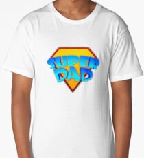 Super Dad Long T-Shirt