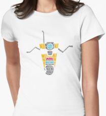 Wub Wub Wub Womens Fitted T-Shirt