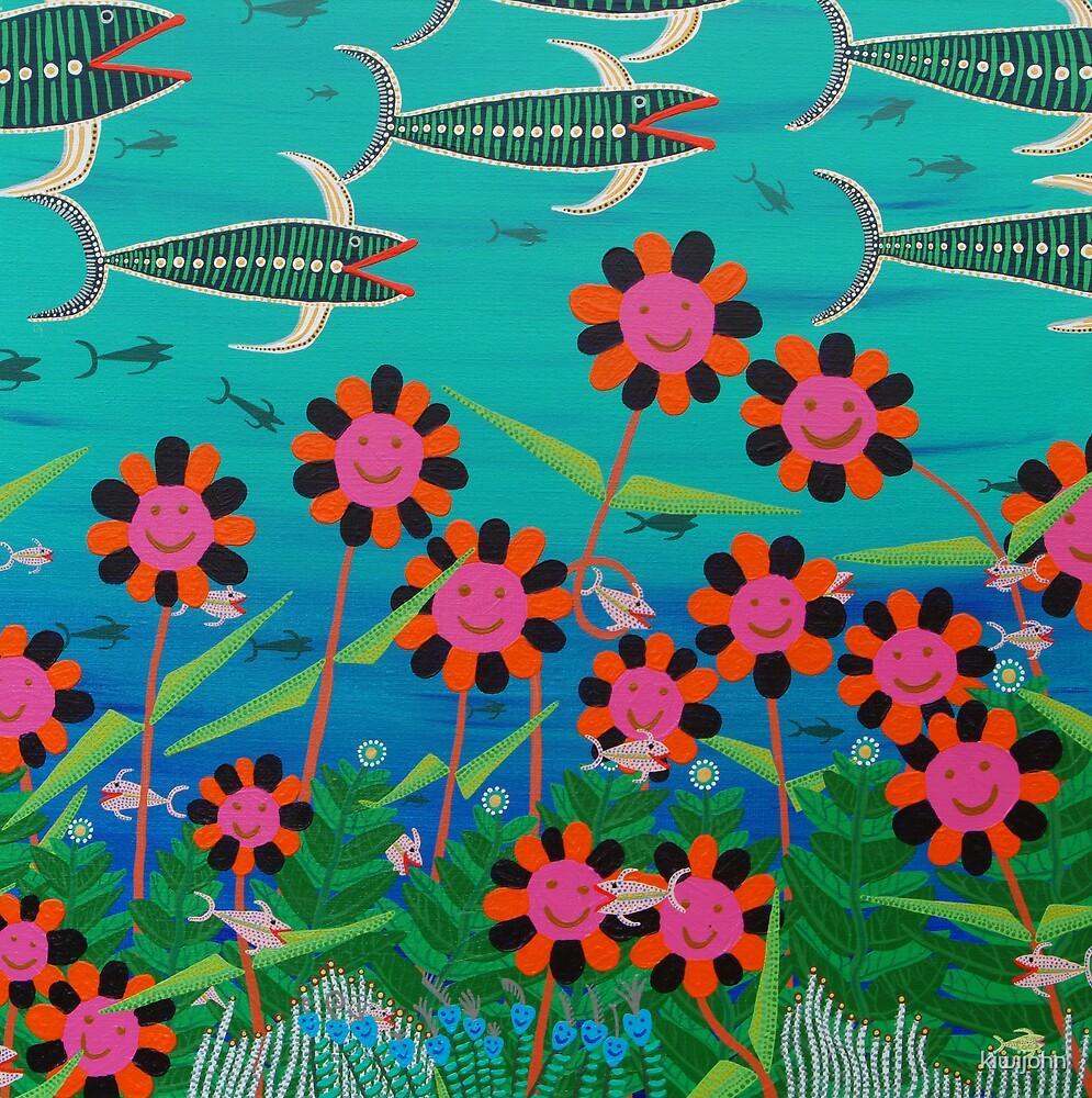 Sea of Flowers by kiwijohn