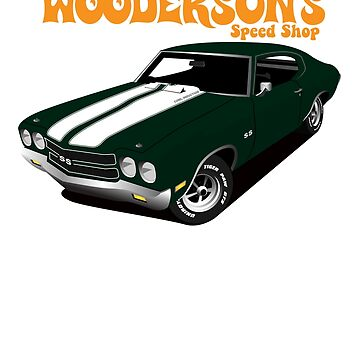 Wooderson's Speed Shop by superiorgraphix