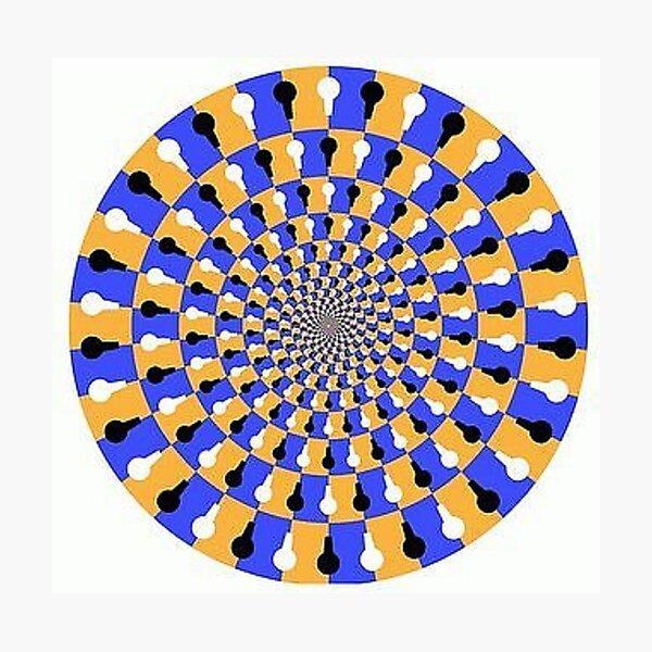 Visual illusion, #VisualIllusion, #visual, #illusion  Photographic Print