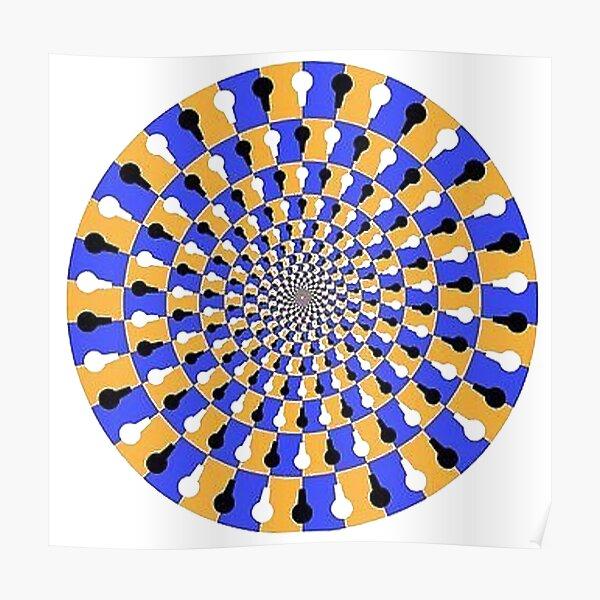 Visual illusion, #VisualIllusion, #visual, #illusion  Poster