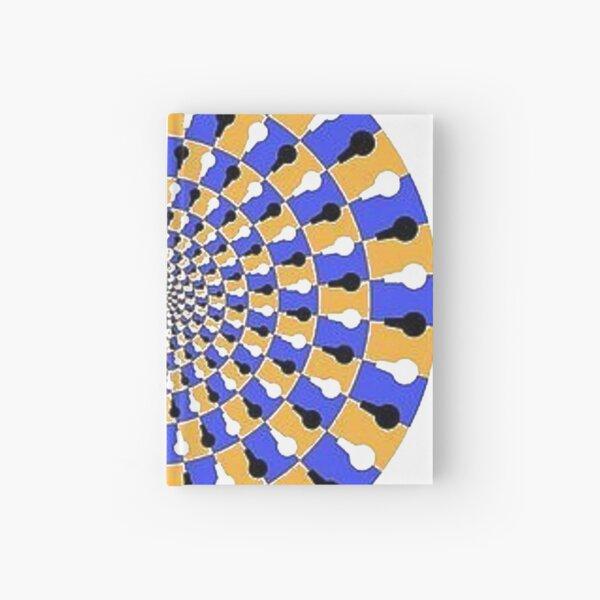 Visual illusion, #VisualIllusion, #visual, #illusion  Hardcover Journal