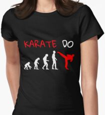 Karate evolution Women's Fitted T-Shirt