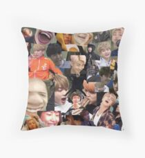 BTS ULTIMATE MEME Throw Pillow