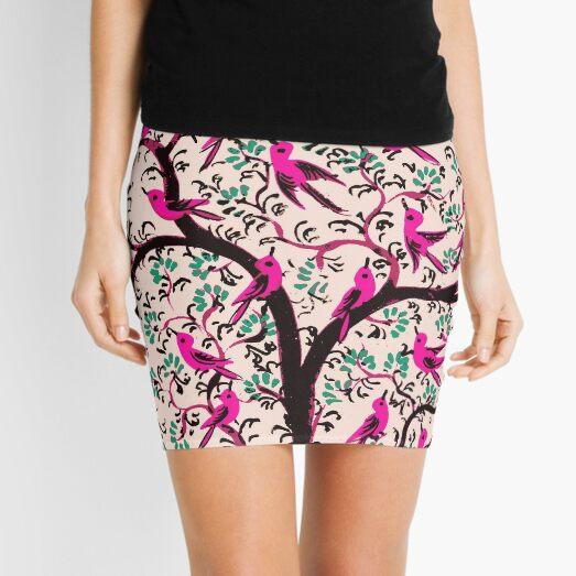 The Bird Tree Mini Skirt