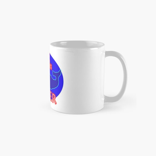 """Two Whales Diner """"So Damn Touristy"""" Classic Mug"""