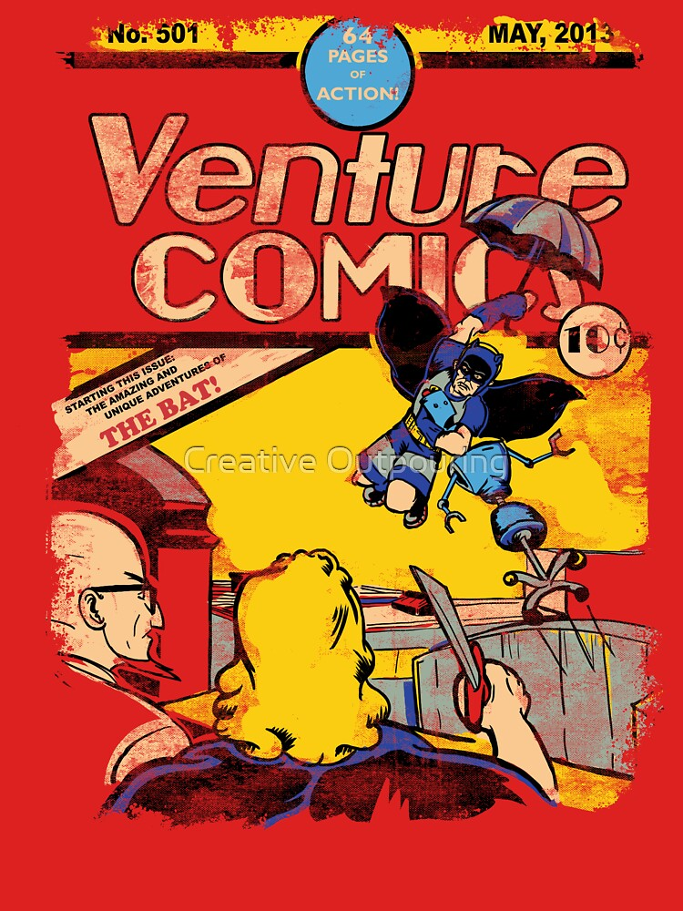 Venture Comics: The Bat (first appearance) | Women's T-Shirt