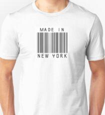 Camiseta unisex Hecho en Nueva York