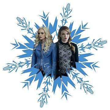 Killer Frost & Caitlin Snow by AHappyBeginning