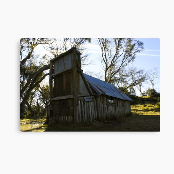 Wallace's Hut Canvas Print