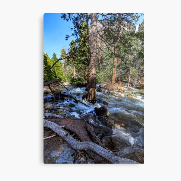 Bridal Veil Creek Full Tilt Metal Print