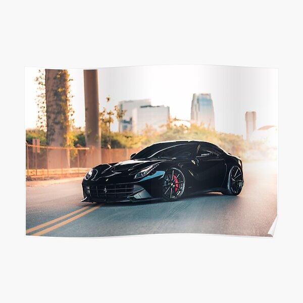 Car Poster FERRARI F12TDF 2016 Picture Poster Print Art A0 A1 A2 A3 A4 9117