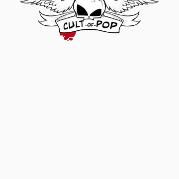 Winged Skull (large) by cultofpop