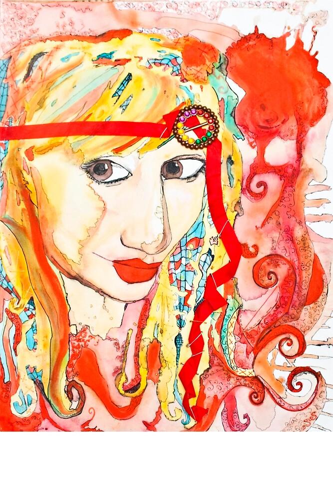 Self portrait by CrystalKnight
