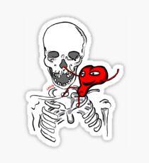 love goes on Sticker