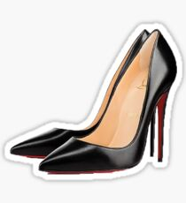 Black High Heels Sticker
