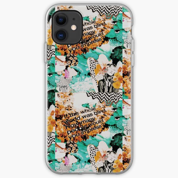 If the Whole World was Blind- Original Graphic iPhone Soft Case