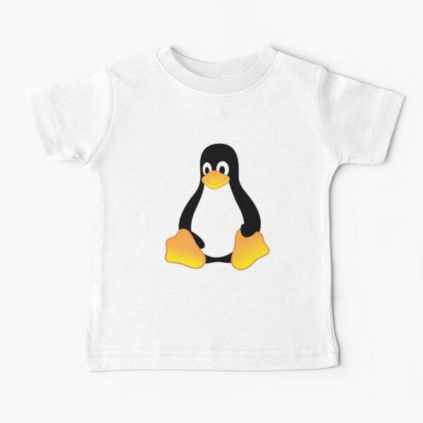 Tux Mascot T-Shirt Penguin Linux Logo Baby T-Shirt