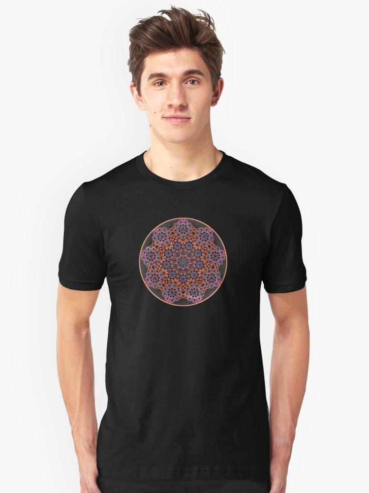 'Child Web Mandala 2' Unisex T-Shirt Front
