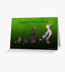Under Par (Father's Day) Greeting Card