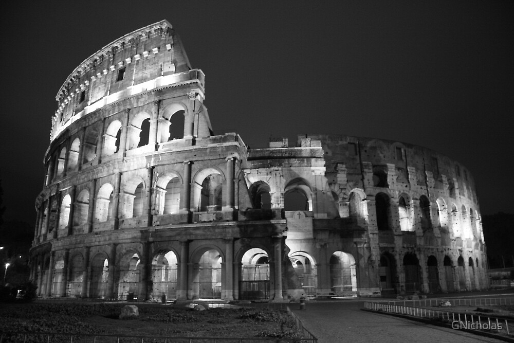 Colosseum By Night by GNicholas