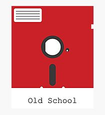 Old School Floppy Disk Photographic Print
