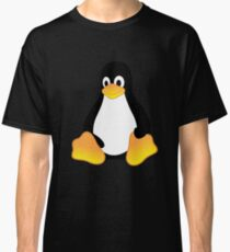 Tux Mascot T-Shirt Penguin Linux Logo Classic T-Shirt