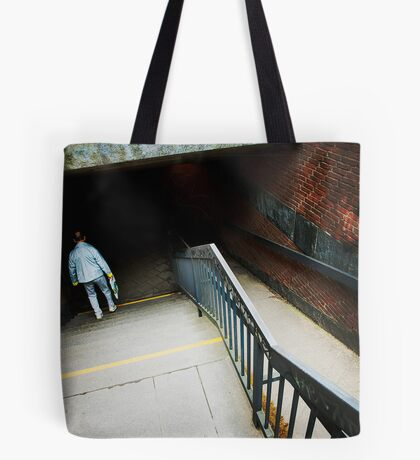 seeking the dark Tote Bag