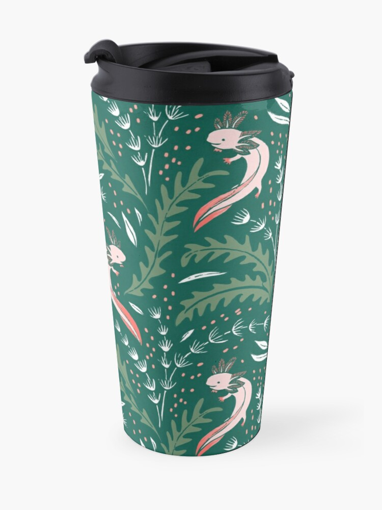 Alternate view of axolotl Travel Mug