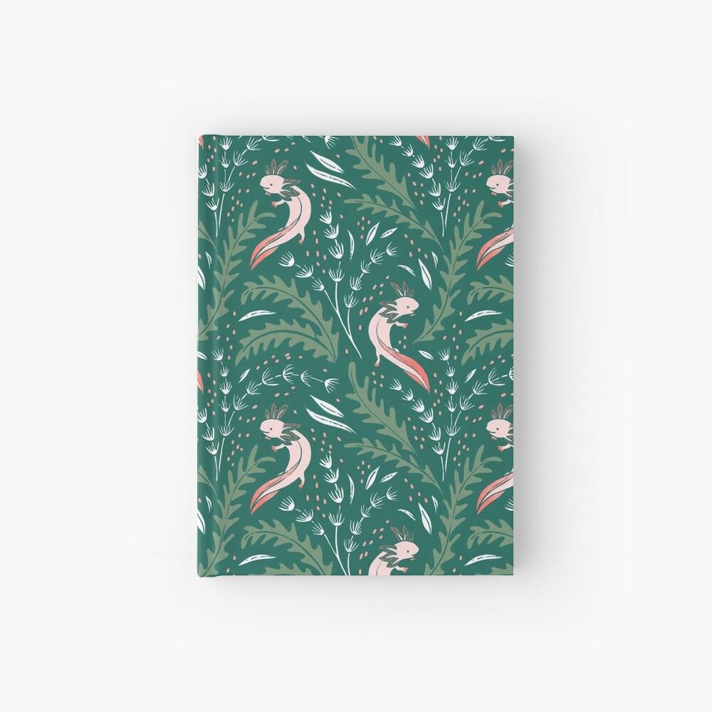 axolotl Hardcover Journal