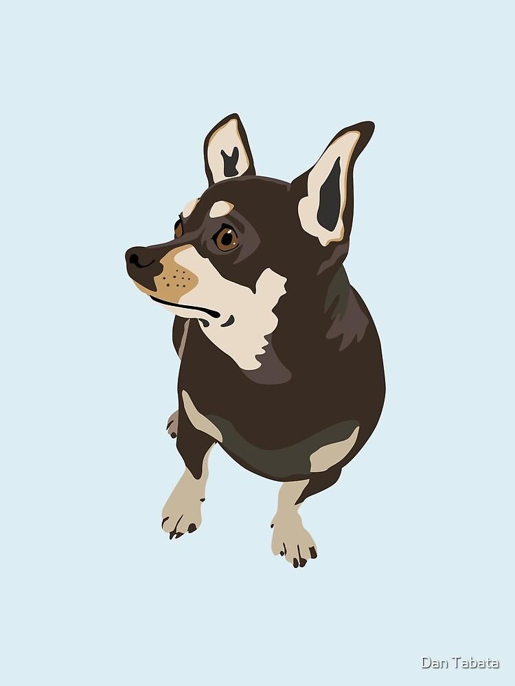 Hopeful Dog by dmtab