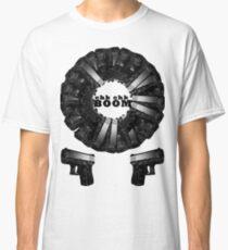 Chk CHk Boom - crazy pattern Classic T-Shirt